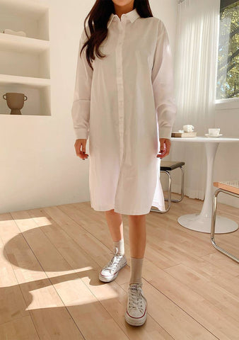Treasure Long Shirt Dress