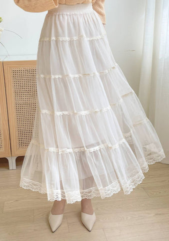 Harper Layered Long Skirt