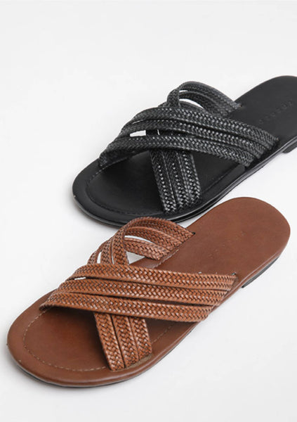 All We Ever Wanted Cross Sandals