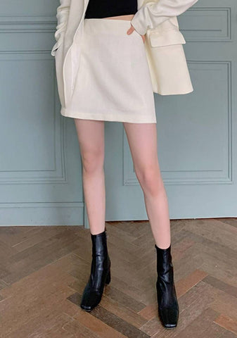 The Perfect Meeting Mini Skirt