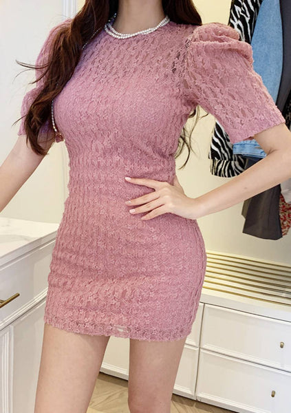 Love Or Have Loved Puff Lace Dress