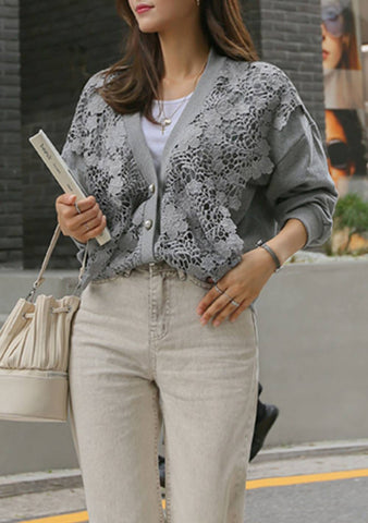 Particular Involvement Lace Cardigan