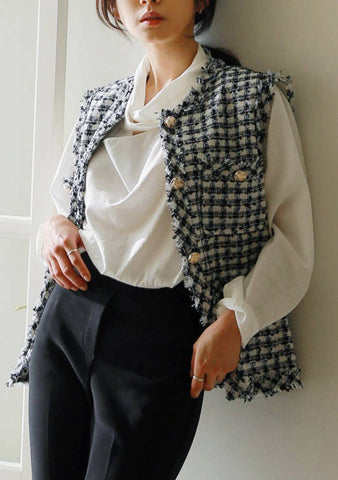 The Ordinary Tweed Vest