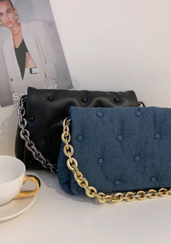 Clueless Padded Clutch Bag