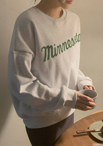 Winter In Minnesota Printed Sweatshirt