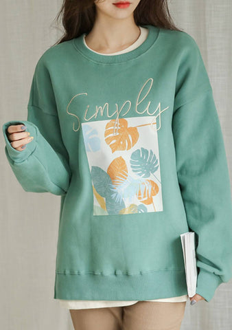 Some Places I Belong Printed Sweatshirt