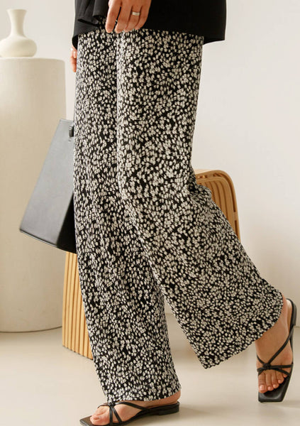 Dragonflies Wide Flowers Pants