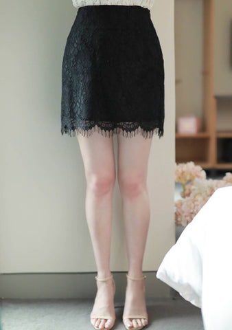More Than Friends Lace Skirt