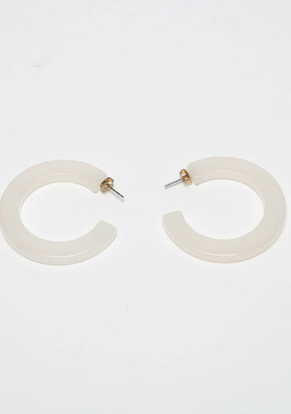 The Little Part Of You Hoops Earrings