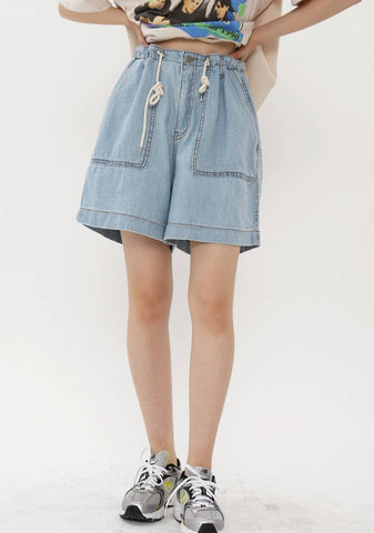 Man Denim Shorts