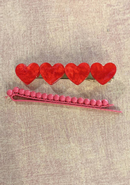 House Of Hearts Hairpins Set