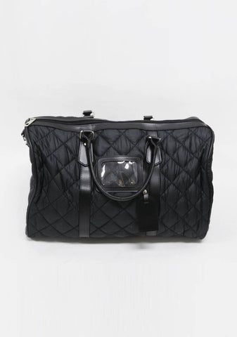 And Then It Happens Quilted Bag