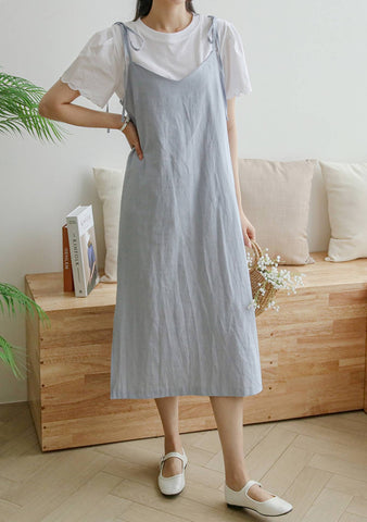 Testament Of Youth Slip Linen Dress