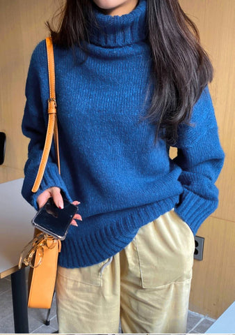 One Thing AT A Time Oversize Knit Sweater