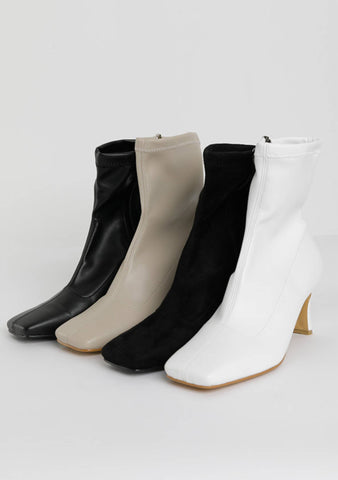The Story Starts Ankle Heels Boots