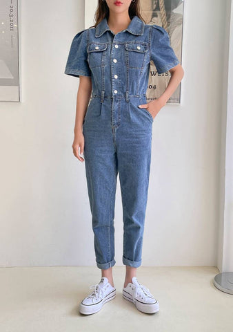 Polly Denim Jumpsuit