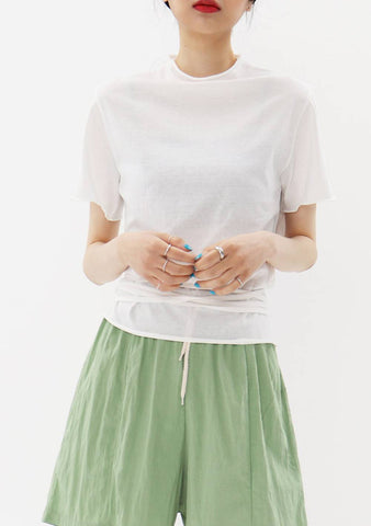 Yap String Cotton T-Shirt
