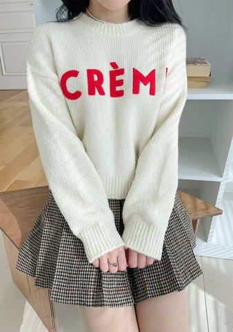 La Creme Knit Sweater
