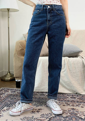 Blueberry Passion Denim Jeans