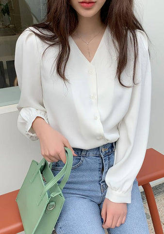 Louise Puff Blouse