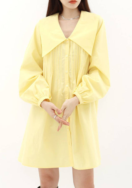 Halraeyo Dress [Yellow]