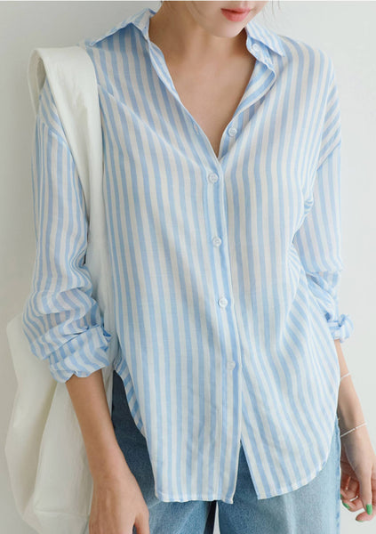Let July Be July Stripes Shirt