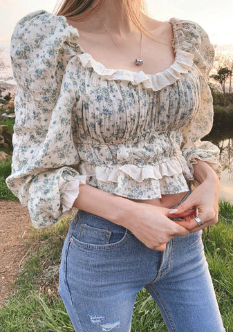 Flower Sunlight Blouse