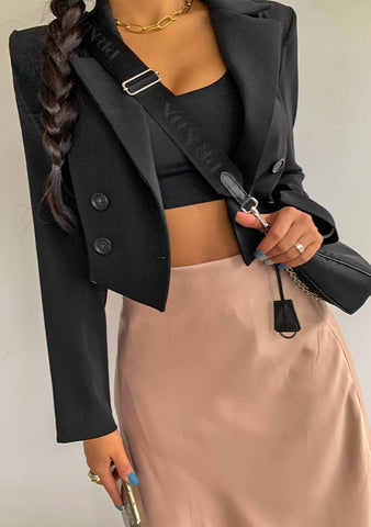 If You Want It Crop Jacket