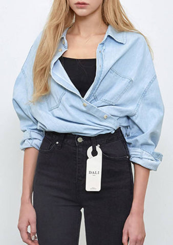 Ice Light Denim Shirt
