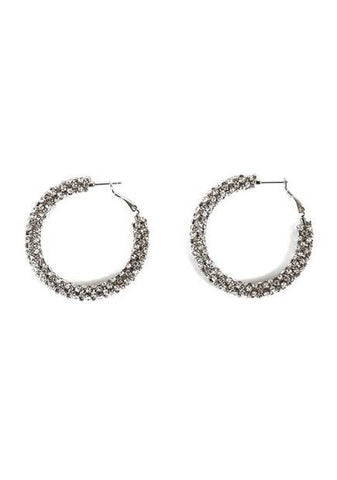 Lets Do What We Love Hoops Earrings
