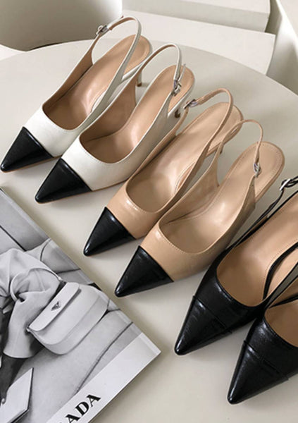 The Golden Ration Pointed Heels