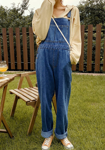 Make You Feel My Love Denim Overalls