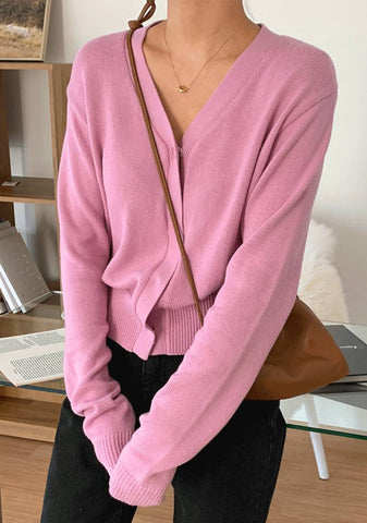 Lovely Pink Cardigan