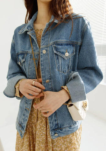 She Is Water Denim Jacket