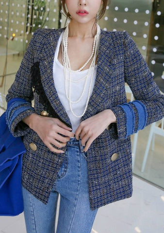 How Long I Will Love You Tweed Jacket