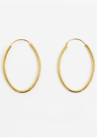 The Best Decision Ever Hoops Earrings