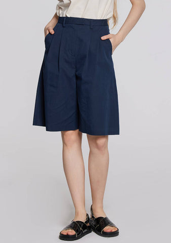Coord Set Bermuda Shorts (Dark Navy)