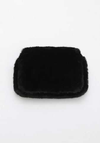 Can You Feel Me Faux Fur Bag