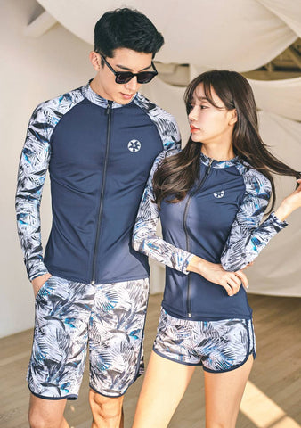 When Two Hearts Met Rashguard Top