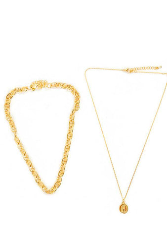 Faustine Multi-Rank Necklace