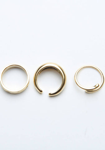 Infographic Rings Set