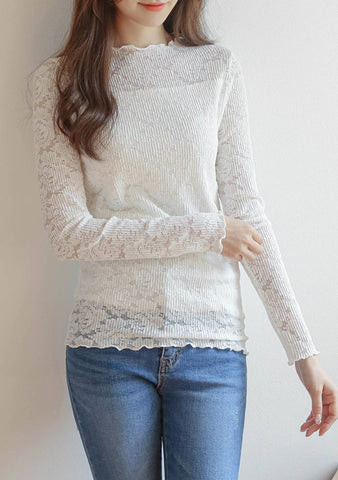 So Love Your Life Lace Top