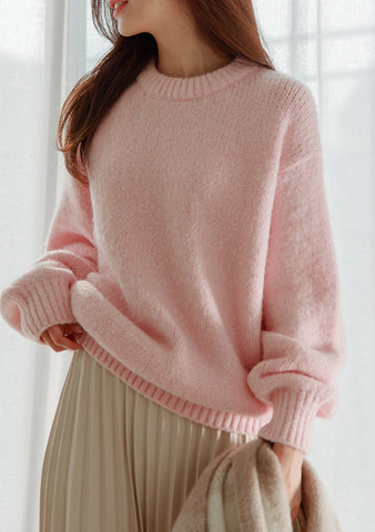 A Comme Amour Wool Knit Sweater
