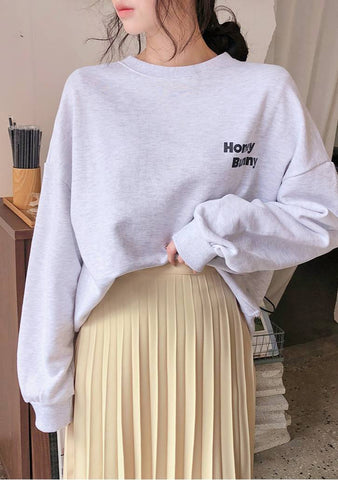 Honey Lettering Sweatshirt