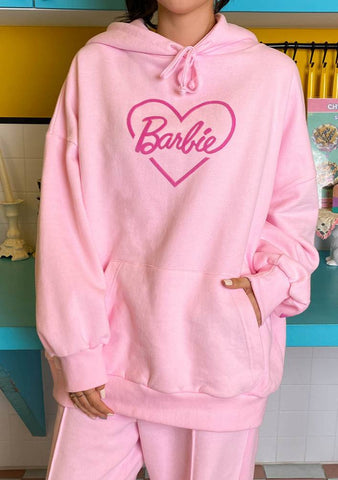 Love Barbie Soft Heart Hoodie