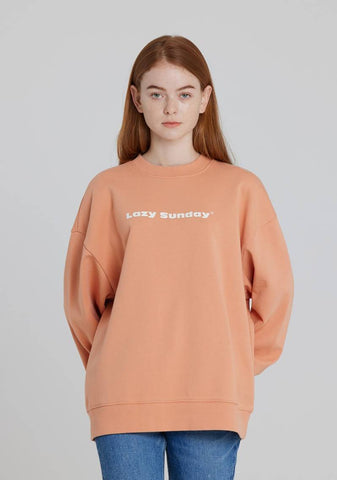 Basic Sweatshirt (Orange)