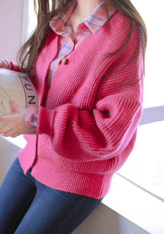 It Is Always Tea Time Knit Cardigan