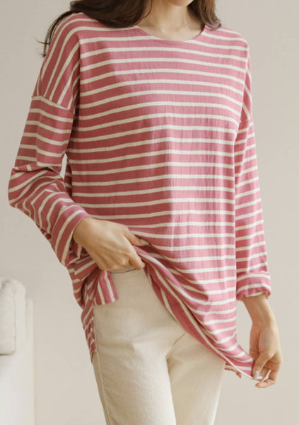 Time To Remember Stripes Top