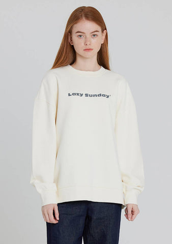 Basic Sweatshirt (Ivory)