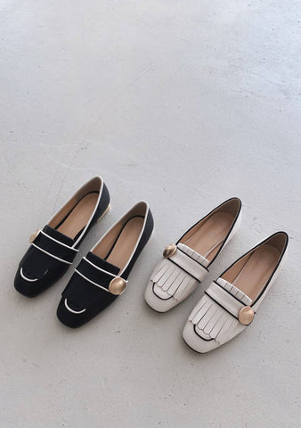 Think Fast Live Slow Loafers Shoes